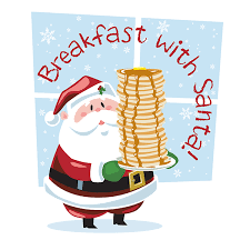 Picture of Santa with Pancakes