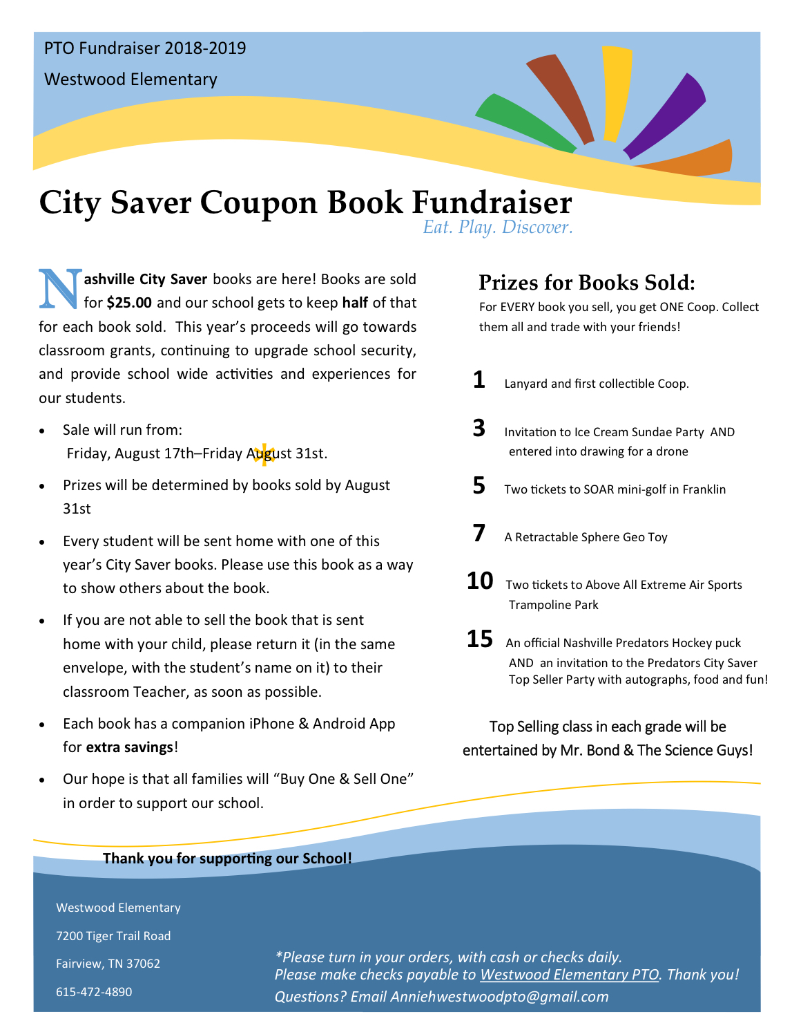 City savers: please see office for paper copy